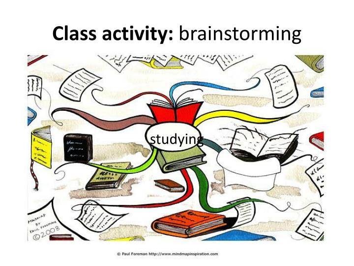 Class activity:
