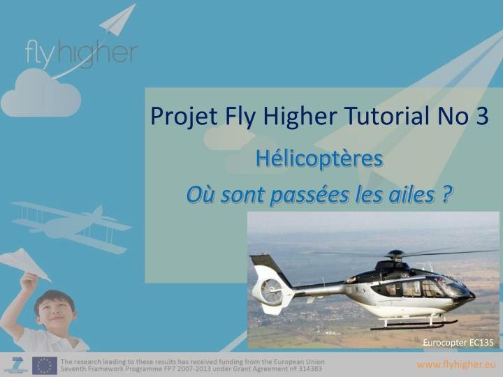 Projet fly higher tutorial no 3