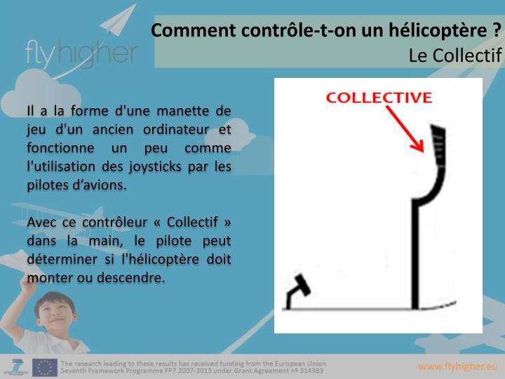Comment contrôle-t-on un hélicoptère ?