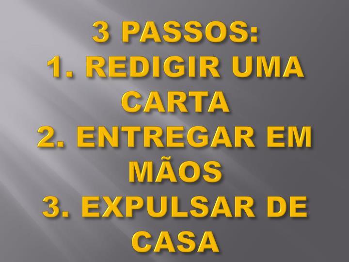 3 PASSOS: