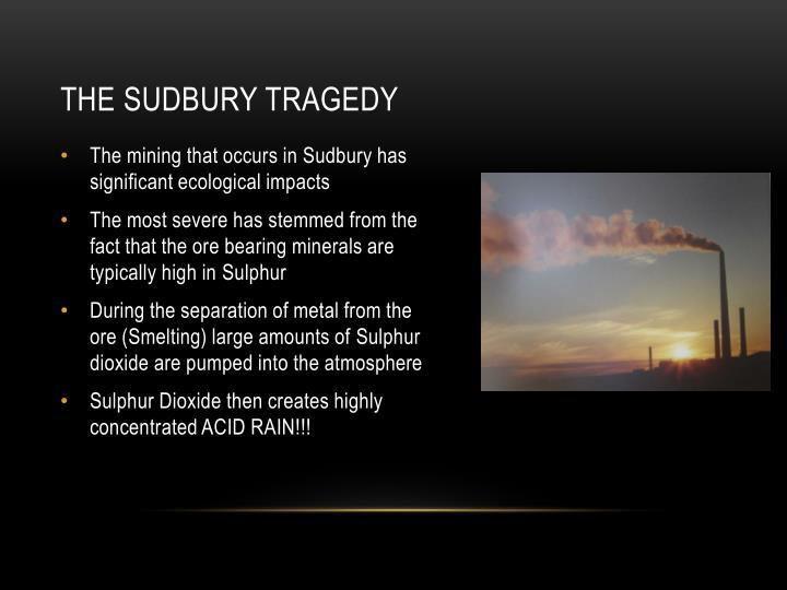 The Sudbury Tragedy