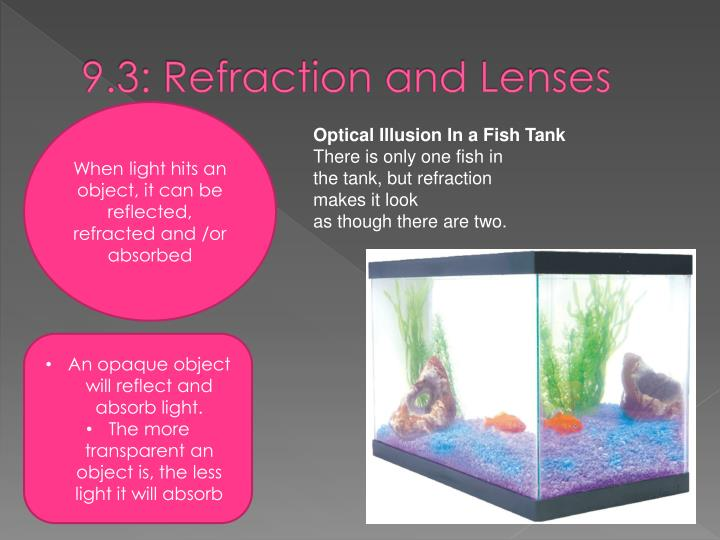 9.3: Refraction and Lenses