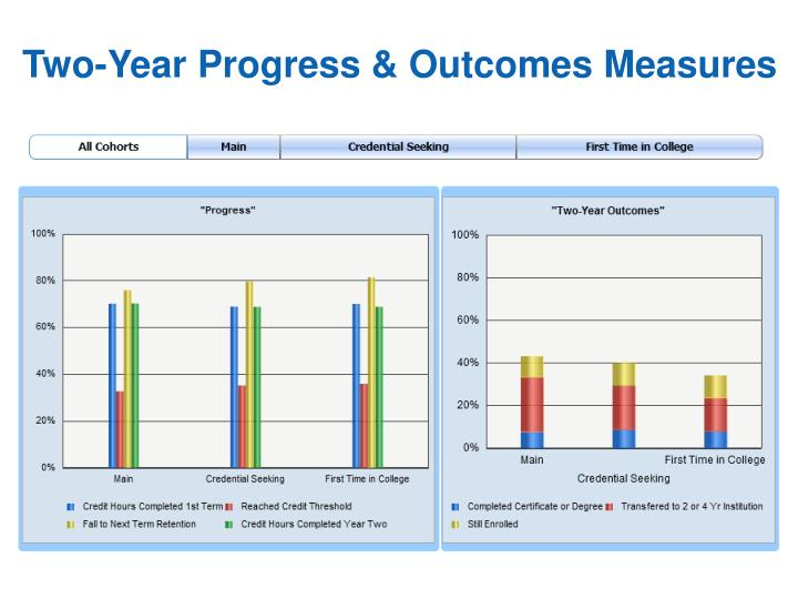 Two-Year Progress & Outcomes Measures
