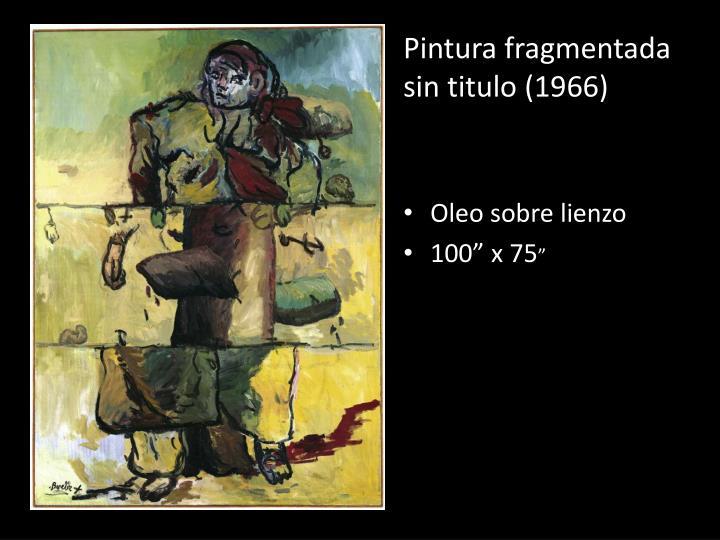 Pintura fragmentada