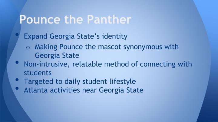 Pounce the Panther