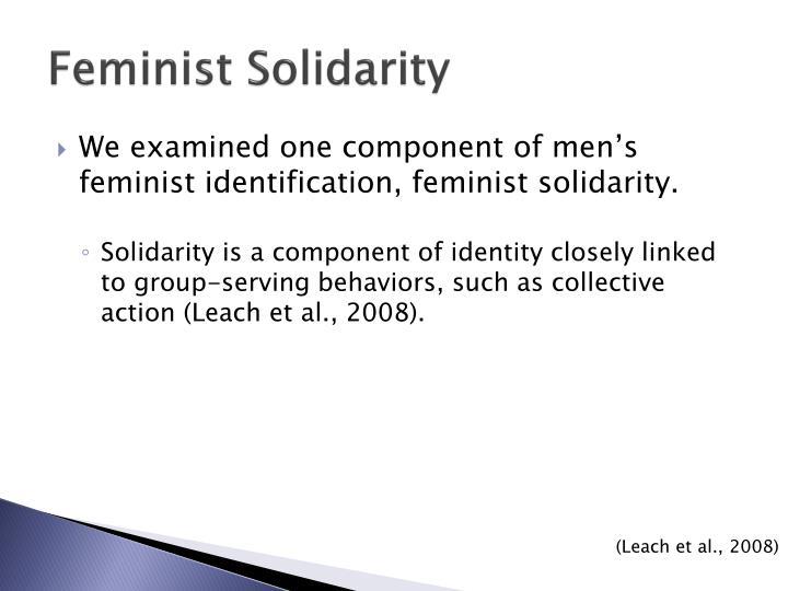 Feminist Solidarity
