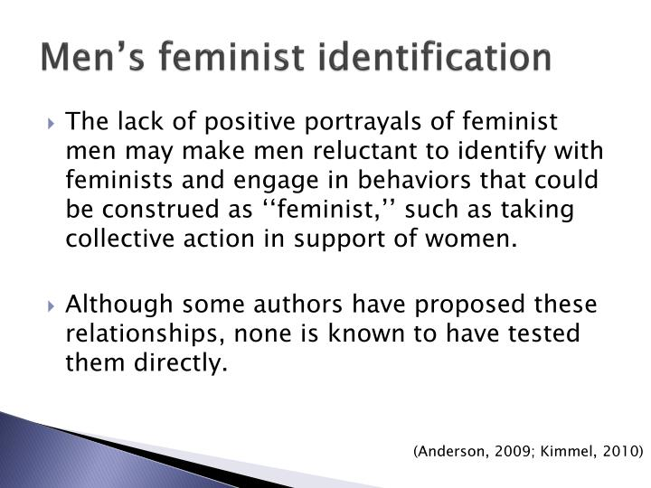 Men's feminist identification