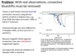 problem with real observations convective blueshifts must be removed