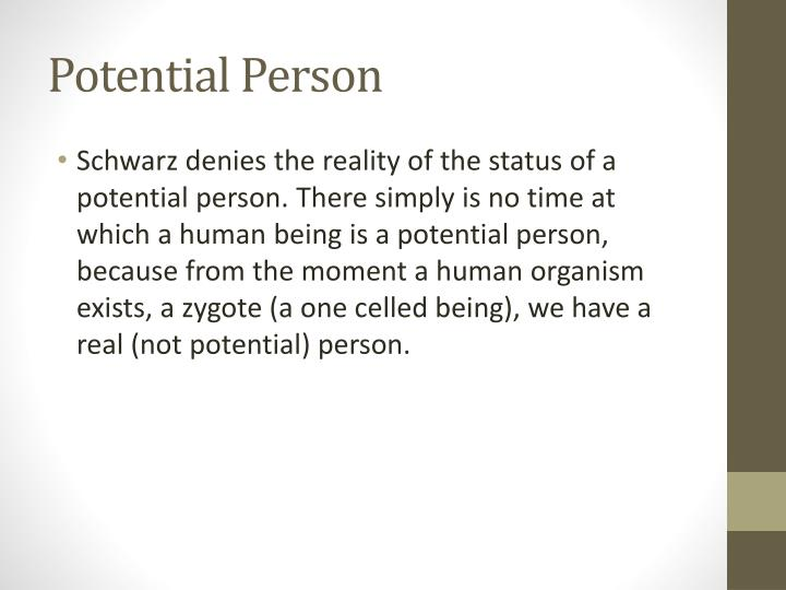 Potential Person