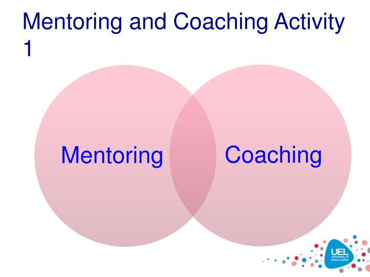 Mentoring and Coaching Activity 1