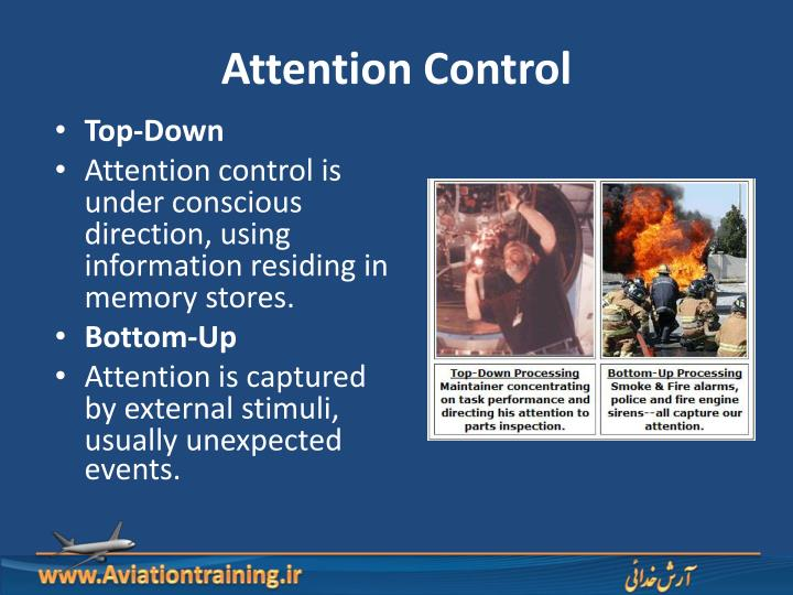 Attention Control