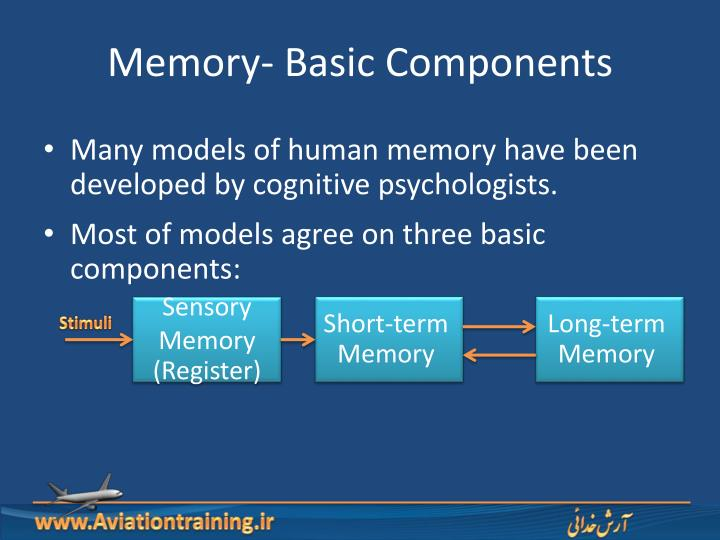 Memory- Basic Components