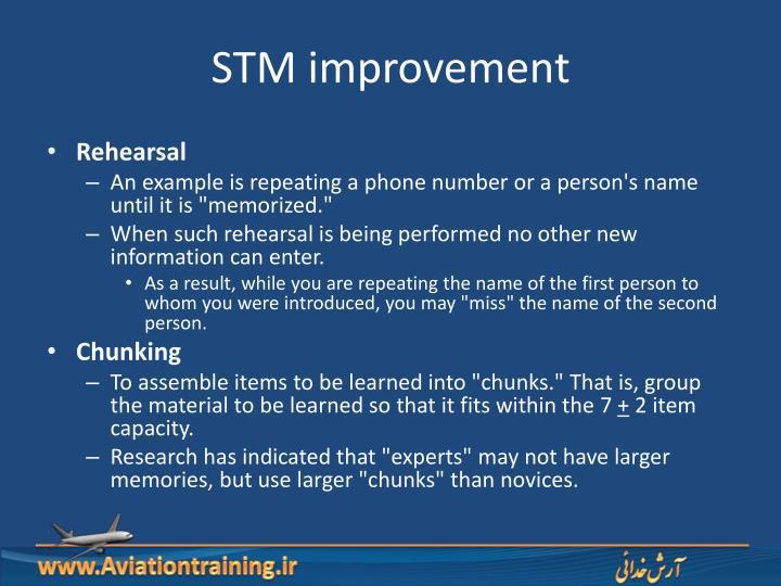 STM improvement
