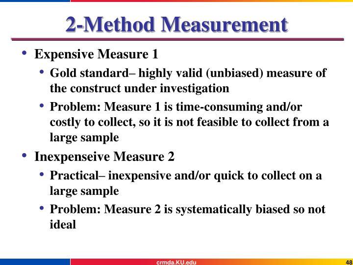 2-Method Measurement