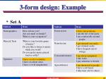 3 form design example3