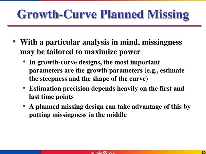 Growth-Curve Planned Missing