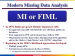 modern missing data analysis