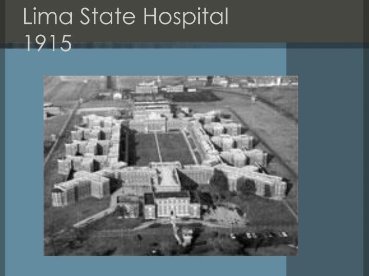 Lima State Hospital