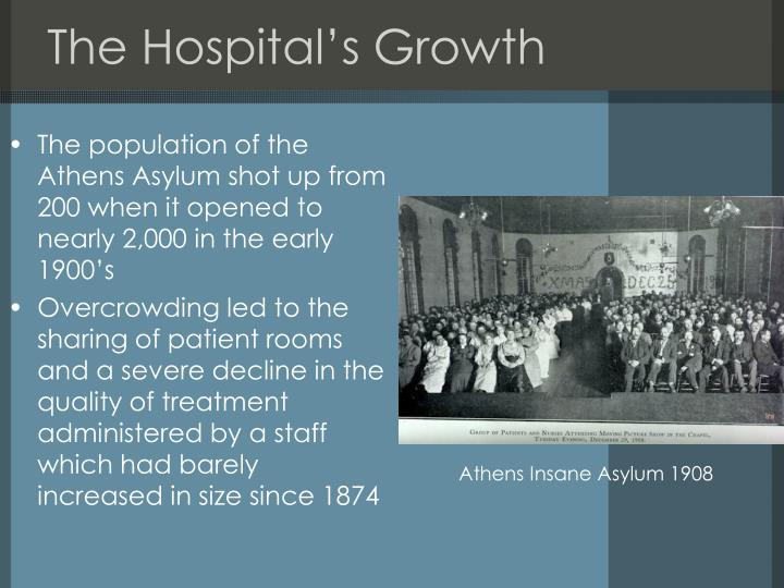 The Hospital's Growth