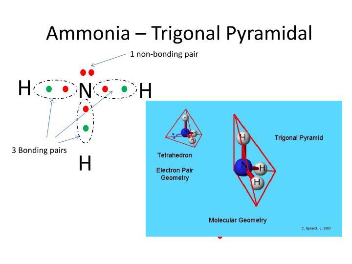 Ammonia –