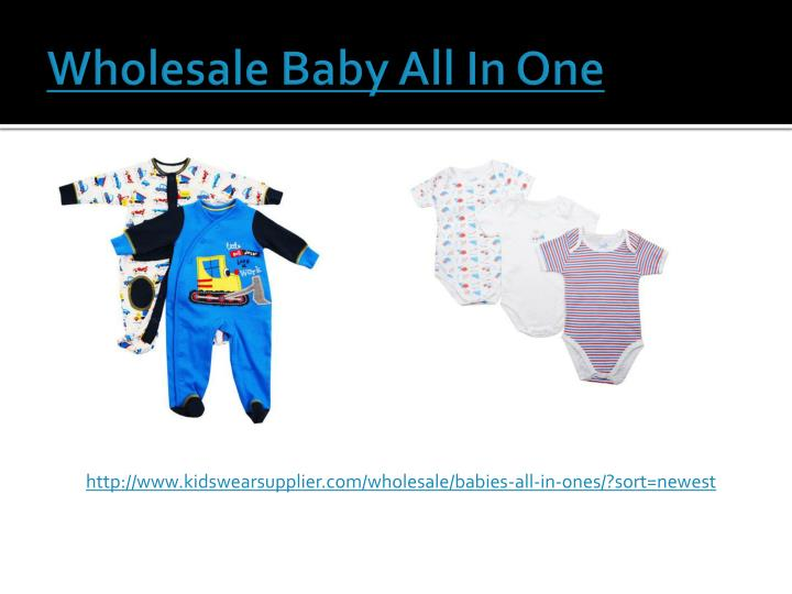 Wholesale Baby All In One