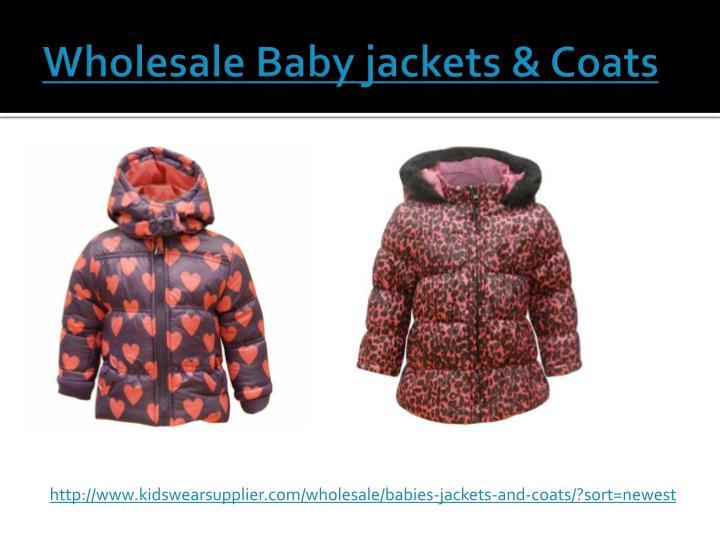 Wholesale Baby jackets & Coats