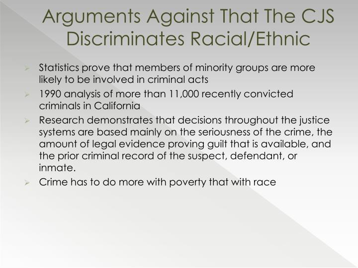 What Are Some Cultural Diversity Issues in Criminal Justice?