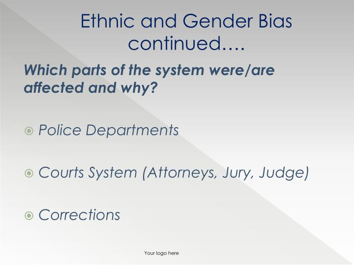 contemporary cultural diversity issues Contemporary cultural diversity issues in criminal justice assess the criminal justice system's response to the public's perception of ethnic and gender bias assess whether the criminal justice system discriminates against any group.