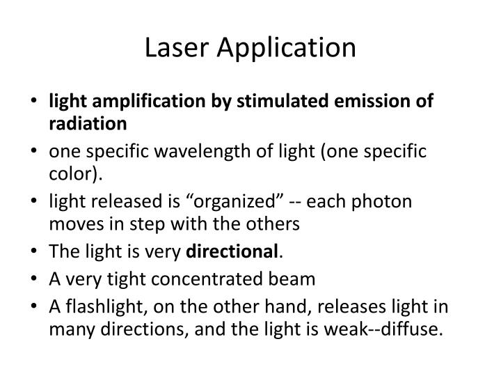 Laser Application