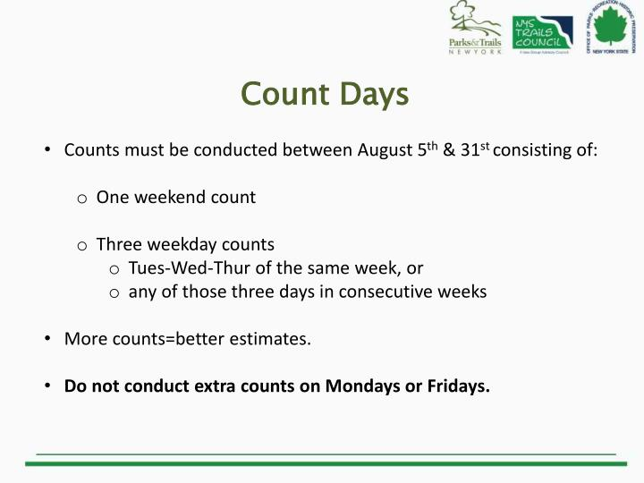 Count Days