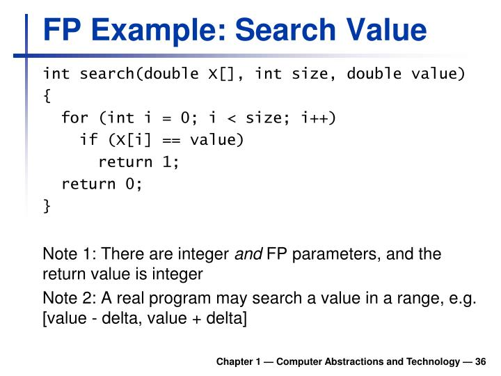 FP Example:
