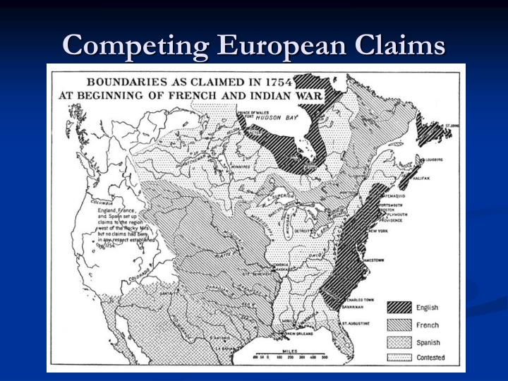 Competing European Claims