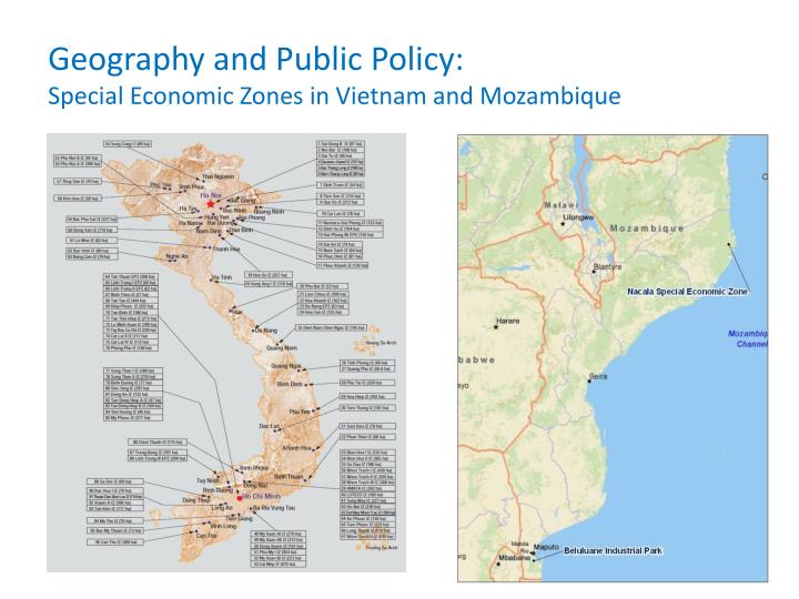 Geography and Public Policy