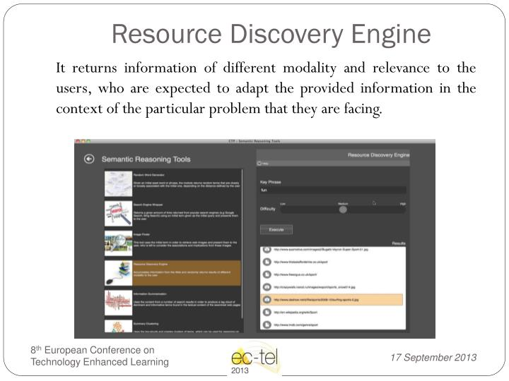 Resource Discovery Engine