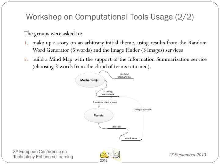 Workshop on Computational Tools Usage (2/2)