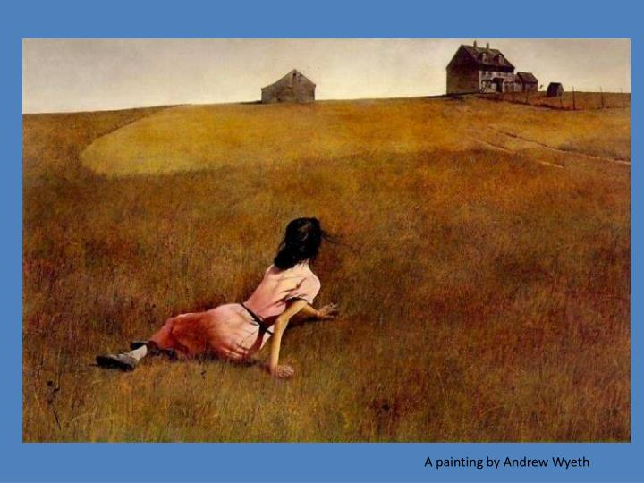 A painting by Andrew Wyeth