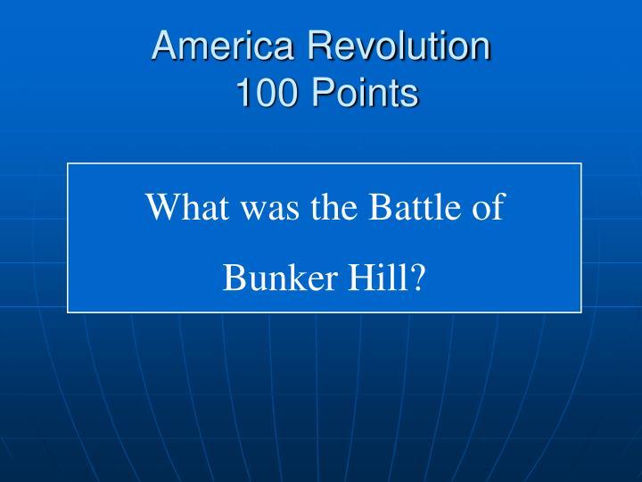 America Revolution