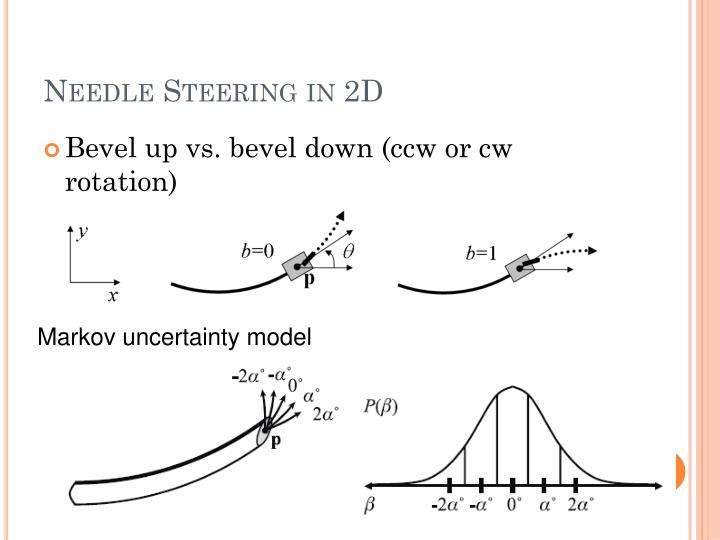 Needle Steering in 2D