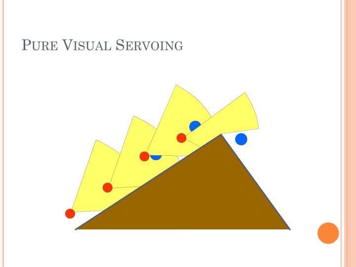 Pure Visual Servoing