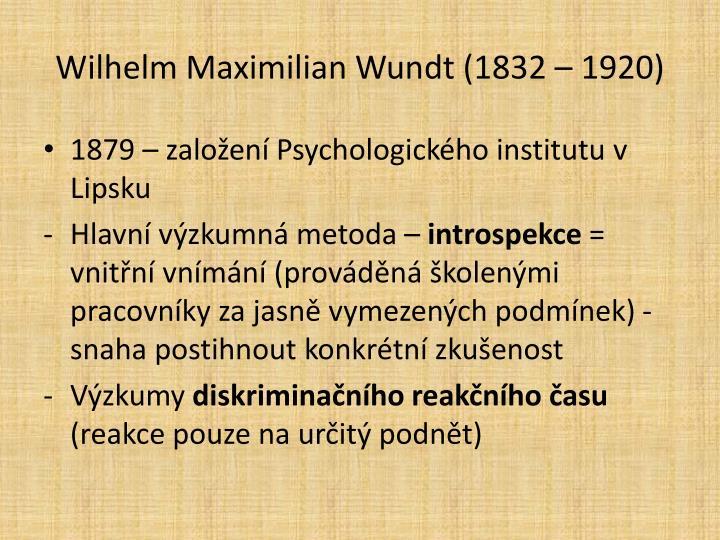 Wilhelm Maximilian