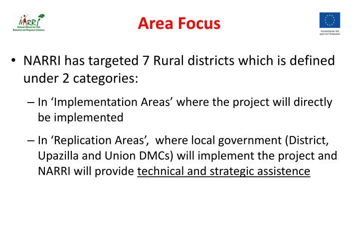 Area Focus
