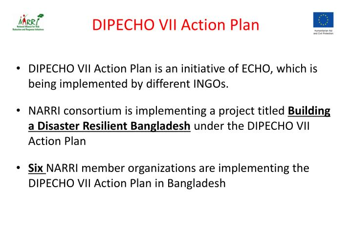 Dipecho vii action plan