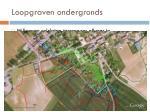 loopgraven ondergronds