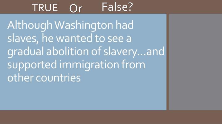 False?