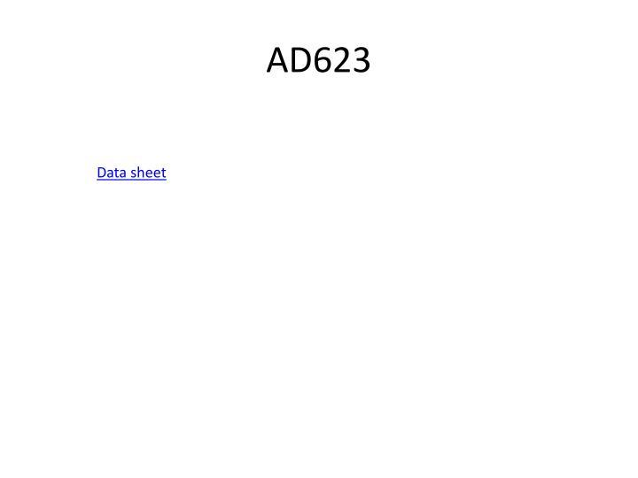 AD623