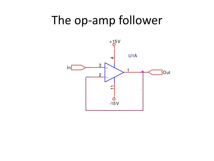 The op-amp