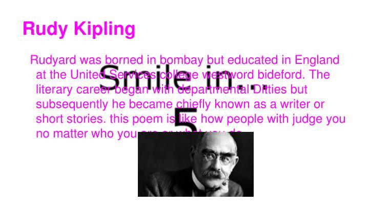 Rudy Kipling