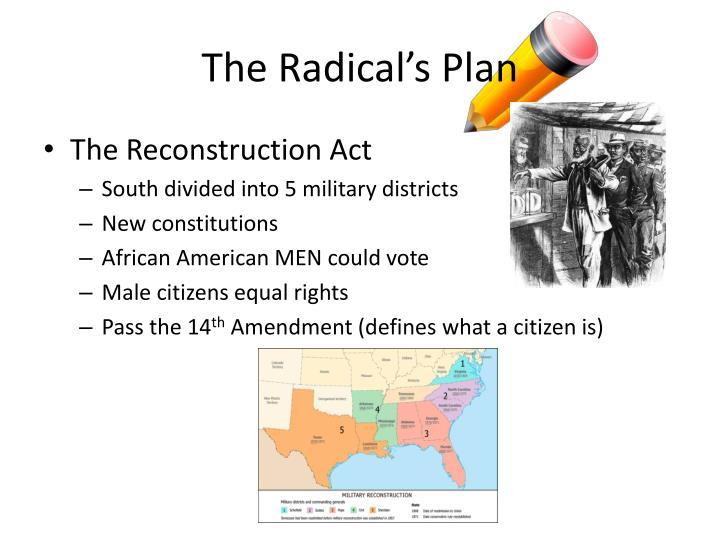 The Radical's Plan