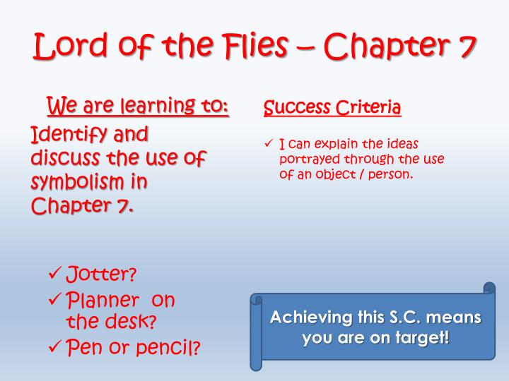 Lord of the Flies –