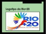 logotipo da rio 20